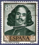 Stamps : Europe : Spain :  Edifil 1243 Autorretrato Velázquez 0,80