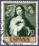 Stamps Spain -  Edifil 1273 La Inmaculada 0,70
