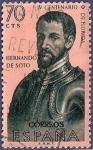 Sellos de Europa - España -  Edifil 1299 Hernando de Soto 0,70