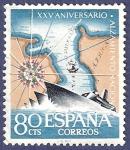 Sellos de Europa - España -  Edifil 1354 Aniversario del alzamiento nacional 0,80