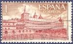 Stamps Spain -  Edifil 1384 El Escorial 1 DESCENTRADO