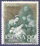 Sellos de Europa - España -  Edifil 1465 Misterios del Santo Rosario 0,80
