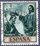Stamps Spain -  Edifil 1421 Jesús coronando a San José 0,80