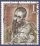 Sellos de Europa - España -  Edifil 1493 Venida de San Pablo a España 1