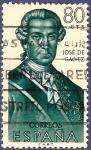 Stamps Spain -  Edifil 1528 José de Gálvez 0,80