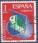 Stamps Spain -  Edifil 1709 Graphispack 66 1