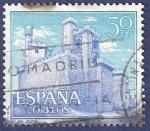 Stamps Spain -  Edifil 1741 Castillo de Olite 0,50
