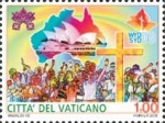 Stamps Europe - Vatican City -  JORNADA MUNDIAL DE LA JUVENTUD