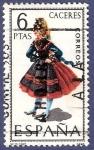 Stamps Spain -  Edifil 1776 Traje regional Cáceres 6