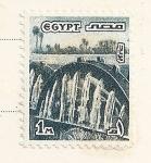 Stamps Egypt -  Noria