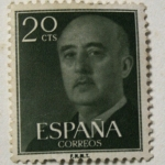 Stamps Europe - Spain -  Franco 20 cts