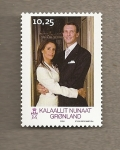 Stamps Greenland -  Boda príncipes de Dinamarca