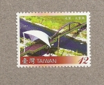 Stamps Asia - Taiwan -  Puentes de Taiwán