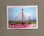 Sellos de Asia - Taiwán -  Puentes de Taiwán