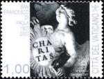 Sellos de Europa - Vaticano -  5ªCENTENARIO DE LA MUERTE DE FRANCESCO DI PAOLA