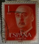 Sellos de Europa - España -  Franco 1 pta