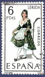 Stamps Spain -  Edifil 1901 Trajes regionales Lérida 6