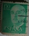 Sellos de Europa - España -  Franco 1,50 ptas