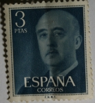 Stamps Europe - Spain -  Franco 3 ptas
