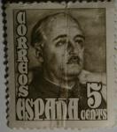 Sellos del Mundo : Europa : España : Franco 5 cents