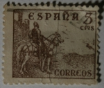 Stamps Europe - Spain -  El Cid 5 cms