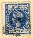 Sellos del Mundo : America : Cuba : Alfonso XII 1898-99