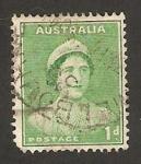 Stamps : Oceania : Australia :  reina elizabeth