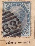 Sellos de Europa - Italia -  Vittorio Emanuele II edicion 1863