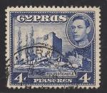 Sellos de Asia - Chipre -  Castillo KOLOSSI.