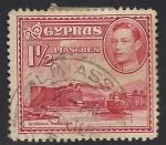 Stamps Asia - Cyprus -  Castillo de KYRENIA.