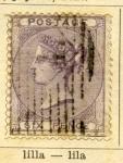 Sellos de Europa - Reino Unido -  Reina Victoria Edicion 1854