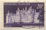 Stamps Europe - France -  Chateaux de la Loire : Chambord