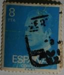 Sellos de Europa - España -  Juan Carlos 8pta 77