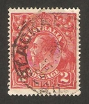 Stamps : Oceania : Australia :  george V