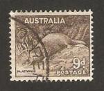 Stamps : Oceania : Australia :  fauna, un ornitorrinco