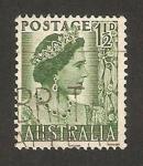 Stamps Australia -  reina elizabeth