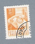 Stamps : Europe : Romania :  Telefono