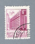 Stamps : Europe : Romania :  Edificio