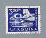 Sellos del Mundo : Europa : Rumania : Aeropuerto