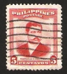 Stamps Philippines -  marcelo h. del pilar