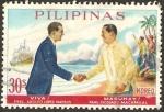 Sellos del Mundo : Asia : Filipinas : adolfo lopez mateos y diosdado macapagal