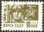 Stamps : Europe : Russia :  3374 - Militar
