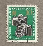 Stamps Germany -  Feria Otoño Leipzig