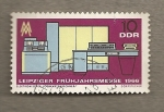 Stamps Germany -  Feria primavera Leipzig