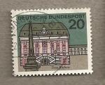 Stamps Germany -  Ayuntamiento de Bonn