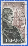 Stamps Spain -  ESPAÑA 1976 (E2308) Personajes espanoles Cosme Damian Churruca 7p 5 INTERCAMBIO