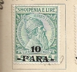 Stamps Europe - Albania -  Efigie Skander Beg