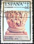 Sellos del Mundo : Europa : España :  Navidad 1974 3ptas