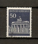 Sellos de Europa - Alemania -  Puerta de Brandenburgo / Berlin