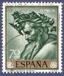 Stamps Spain -  Edifil 1500 Triunfo de Baco 0,70